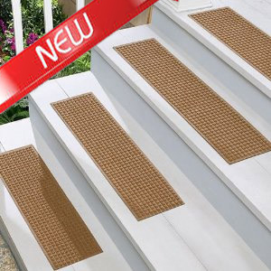 Buy Andersen Waterhog Stair Treads at www.waterhogmats.net