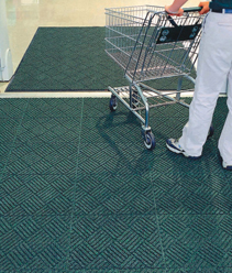 We beat all competitor prices on Waterhog Diamond Floor Mat Tiles with a 110% Price Match Guarantee!